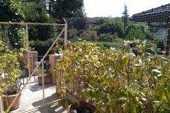 filet de protection anti-chute pour terrasse