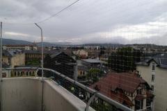 filet de protection anti-chute pour balcon